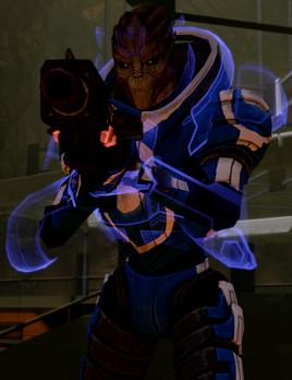 Blue Suns Commander