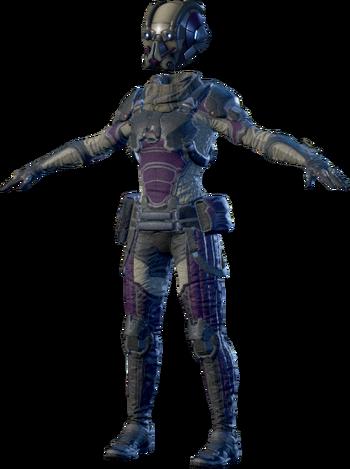 MEA Scavenger Armor Set