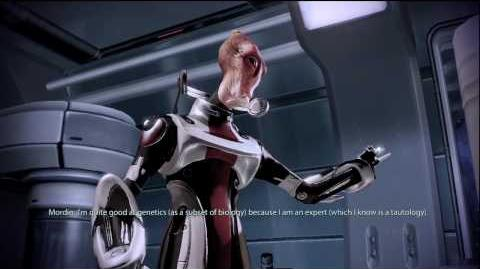 Mass Effect 2 - Mordin performing Gilbert and Sullivan
