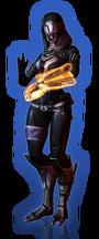 ME3 DLC Из пепла Облик Тали