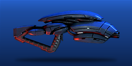 ME3 Geth Pulse Assault Rifle