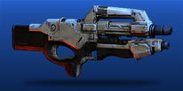 ME3 Mattock Assault Rifle