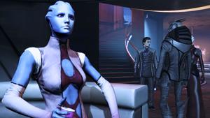 Sha'ira im ME 3 DLC Citadel Pic