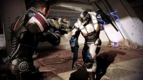 Shepard-gameplay-Cerberus