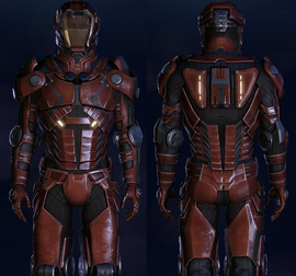 ME3 Inferno Armor