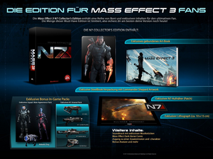N7 Collector's Edition - Inhalt