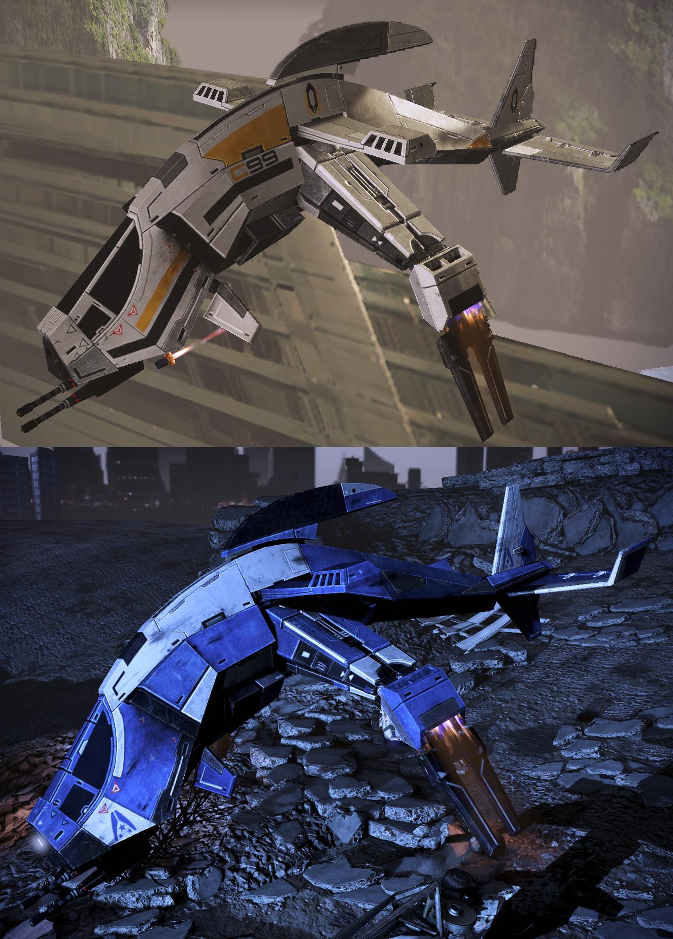 ME3 Gunships