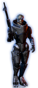 ME3 Garrus Basic Outfit