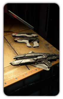 Codex MEA - Technology Weapon and Armor Mods
