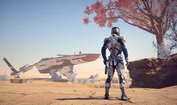 Ryder on planet