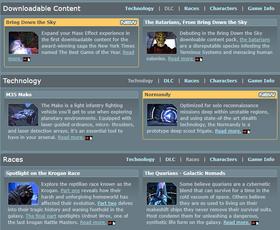 Códice Galáctico de Mass Effect Community