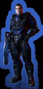 ME3 Kaidan Alt Outfit 2