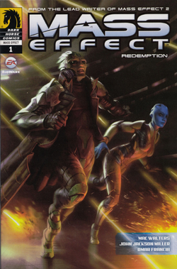 Mass Effect Redemption Issue 1 alternate cover