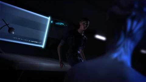 Mass Effect (PC) séduction Liara 4 (Version Française) Scene d'amour Shepard & Liara
