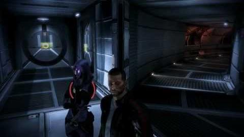 Mass Effect 3 - Tali et Shepard après Thessia