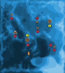 Требін мапа