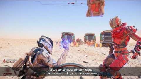 MASS EFFECT Andromeda Habilidades y Armas de Combate Serie oficial de vídeos de juego - Parte 1