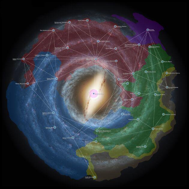 Territorios de la galaxia