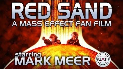 RED SAND a Mass Effect fan film - starring MARK MEER