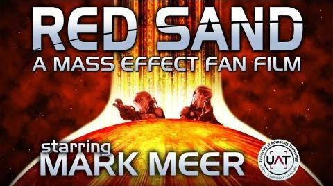 RED SAND a Mass Effect fan film - starring MARK MEER