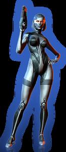 ME3 EDI Basic Outfit