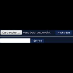 Datei-Hochladen Dialog vor der