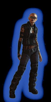 ME2 Jack Alt Outfit