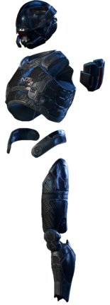 MEA Pathfinder Armor Set