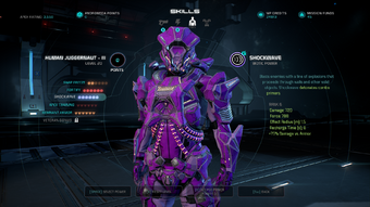 MEAMP - human juggernaut rank iii lv 20