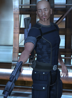 Biotic Terrorist Leader