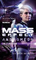 Mass Effect Andromeda Iniciación portada inglés