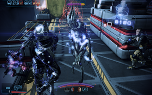ME3 combat - dealing with barriers