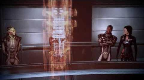 Mass Effect 2 - Hot Female Shepard plans the final attack on Collector Base