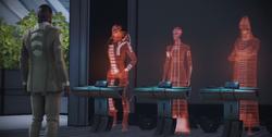 Council Hologram