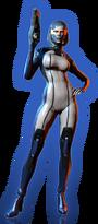 ME3 DLC Из пепла Облик СУЗИ
