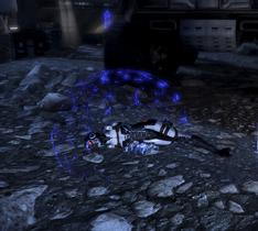 Мертвый фантом использует щит