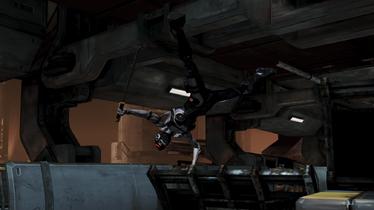 Фантом прыжок через укрытие