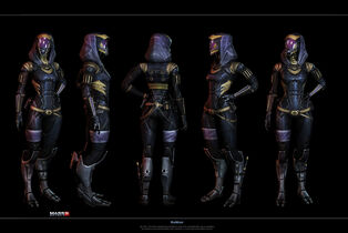Mass effect 3 concept tali alternative 1