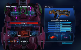 ME3 combat - max weapon loadout