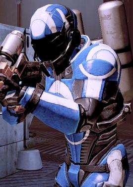 Огнеметчик Синих светил