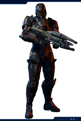 MP N7 Destroyer Soldier