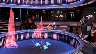 War room - wrex and victus strategizing