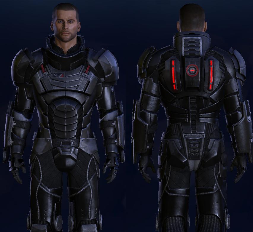 BlackOps Retexture for James Vegas Default Armor at Mass