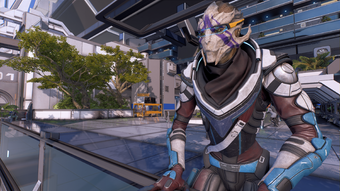 Nexus - Vetra at the docking bay