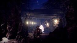 Новая Тучанка. Под землей