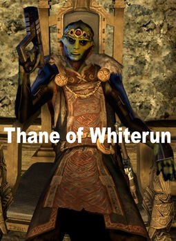 Thane of whiterun