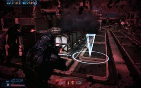 ME3 combat - low HP screen