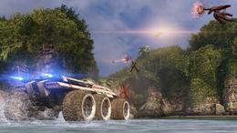 Virmire - mako + juggernaut + drones