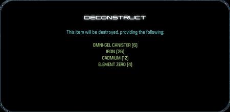 MEA Deconstruct