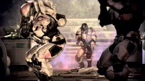 Mass Effect 3 Fall of Earth